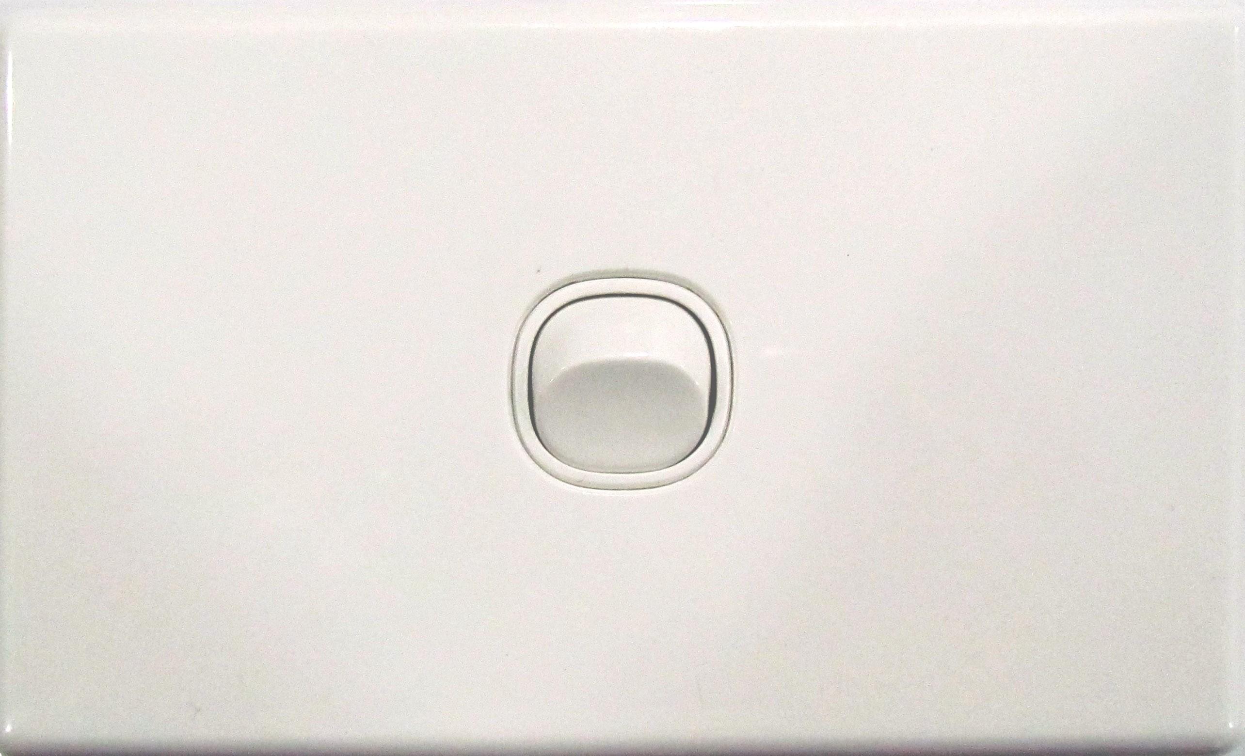 1 Gang Light Switch