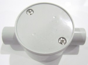 2 Outlet Junction Box
